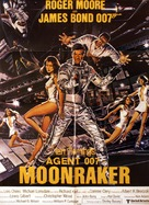 Moonraker - Danish Movie Poster (xs thumbnail)