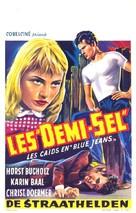 Halbstarken, Die - Belgian Movie Poster (xs thumbnail)
