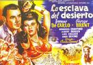 Slave Girl - Spanish Movie Poster (xs thumbnail)