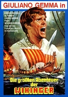 Erik, il vichingo - German Movie Poster (xs thumbnail)