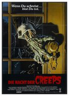 Night of the Creeps - German Movie Poster (xs thumbnail)