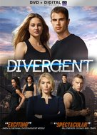 Divergent - DVD cover (xs thumbnail)