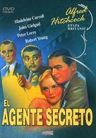 Secret Agent - Spanish DVD cover (xs thumbnail)