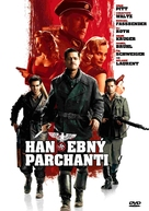 Inglourious Basterds - Czech Movie Cover (xs thumbnail)
