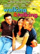 Walking and Talking - French Movie Poster (xs thumbnail)