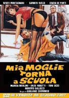 Mia moglie torna a scuola - Italian DVD movie cover (xs thumbnail)