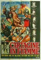 Cartagine in fiamme - Italian Movie Poster (xs thumbnail)