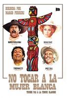 Touche pas à la femme blanche - Spanish Movie Cover (xs thumbnail)