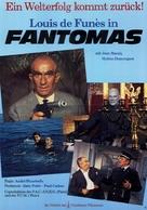 Fantômas - German Movie Poster (xs thumbnail)