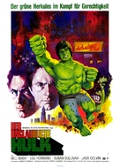 """The Incredible Hulk"" - German Movie Poster (xs thumbnail)"