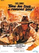 Ammazzali tutti e torna solo - French Movie Poster (xs thumbnail)
