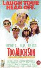 Too Much Sun - British VHS movie cover (xs thumbnail)