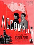 Accomplice - British Movie Poster (xs thumbnail)