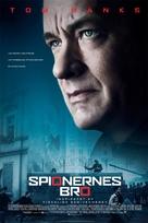 Bridge of Spies - Danish Movie Poster (xs thumbnail)