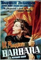 Major Barbara - Italian Movie Poster (xs thumbnail)