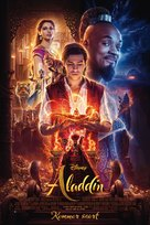 Aladdin - Danish Movie Poster (xs thumbnail)