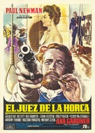 The Life and Times of Judge Roy Bean - Spanish Movie Poster (xs thumbnail)