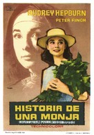 The Nun's Story - Spanish Movie Poster (xs thumbnail)