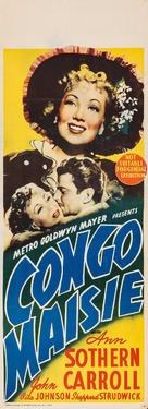 Congo Maisie - Australian Movie Poster (xs thumbnail)