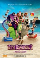Hotel Transylvania 3: Summer Vacation - Australian Movie Poster (xs thumbnail)