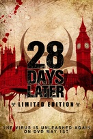 28 Days Later... - British Video release movie poster (xs thumbnail)