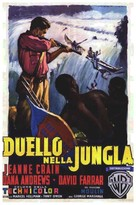 Duel in the Jungle - Italian Movie Poster (xs thumbnail)