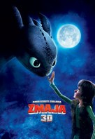How to Train Your Dragon - Slovenian Movie Poster (xs thumbnail)