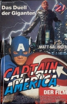 Captain America - German Movie Poster (xs thumbnail)