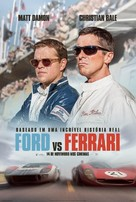 Ford v. Ferrari - Brazilian Movie Poster (xs thumbnail)