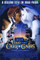 Cats & Dogs - Brazilian Movie Poster (xs thumbnail)