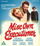 Mine Own Executioner - British Blu-Ray cover (xs thumbnail)