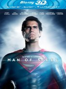 Man of Steel - Blu-Ray cover (xs thumbnail)
