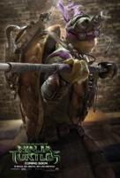 Teenage Mutant Ninja Turtles - British Movie Poster (xs thumbnail)