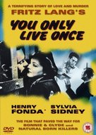 You Only Live Once - British DVD movie cover (xs thumbnail)