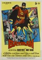 Batman - Italian Theatrical movie poster (xs thumbnail)