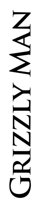 Grizzly Man - Logo (xs thumbnail)