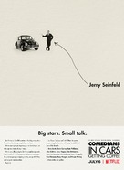 """""""Comedians in Cars Getting Coffee"""" - Movie Poster (xs thumbnail)"""
