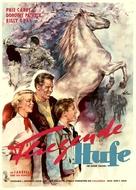 The Outlaw Stallion - German Movie Poster (xs thumbnail)