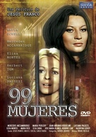 99 mujeres - Spanish DVD cover (xs thumbnail)
