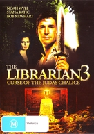 The Librarian: The Curse of the Judas Chalice - Australian DVD cover (xs thumbnail)