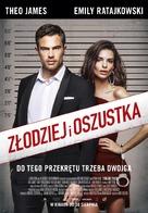 Lying and Stealing - Polish Movie Poster (xs thumbnail)