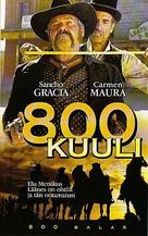 800 balas - Estonian VHS movie cover (xs thumbnail)