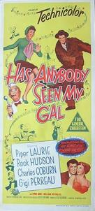 Has Anybody Seen My Gal? - Australian Movie Poster (xs thumbnail)