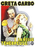 The Mysterious Lady - French Movie Poster (xs thumbnail)