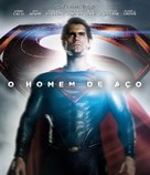 Man of Steel - Brazilian Blu-Ray cover (xs thumbnail)