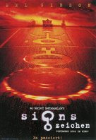 Signs - German Movie Poster (xs thumbnail)