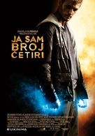 I Am Number Four - Croatian Movie Poster (xs thumbnail)