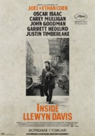 Inside Llewyn Davis - Swedish Movie Poster (xs thumbnail)