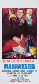 Our Man in Marrakesh - Italian Movie Poster (xs thumbnail)