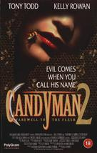 Candyman: Farewell to the Flesh - British VHS movie cover (xs thumbnail)
